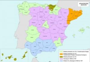 El IFN es un proyecto encaminado a obtener la máxima información posible sobre la situación, régimen de propiedad y protección, naturaleza, estado legal, probable evolución y capacidad productora de todos los tipos de bienes que habitan los montes españoles.