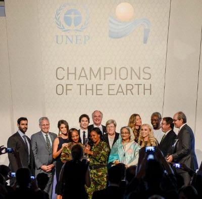 Estos galardones convocados por la ONU se crearon con el fin de reconocer a líderes de gobierno, la sociedad civil y el sector privado cuyas acciones han tenido un impacto positivo en el medioambiente.