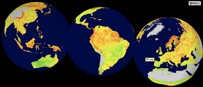 El índice de sensibilidad de la vegetación (Vegetation Sensitivity Index, VSI) cuantifica la cantidad de un ecosistema que se verá afectada por el aumento de las temperaturas y la variabilidad del clima, por ejemplo, durante un octubre especialmente caliente o durante un marzo especialmente frío.