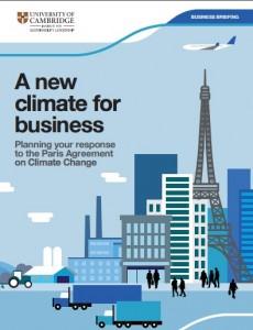 Llíderes empresariales tienen que conocer en detalle lo que significa el Acuerdo de París en sus propios contextos. Mientras que el impacto del tratado puede variar de una industria a otra y en todas las geografías, hay temas comunes y un nuevo contexto global para el cambio, que se aplica a todas las empresas.