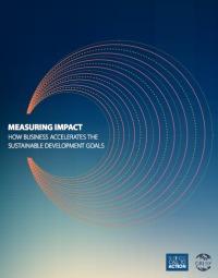 En este primer año de la revisión de los ODS, la medición de impacto sirve como un indicador de lo que funciona y lo que hay que hacer para integrar aún más la información del sector privado en el proceso de seguimiento y revisión de los Objetivos del Desarrollo Sostenible.