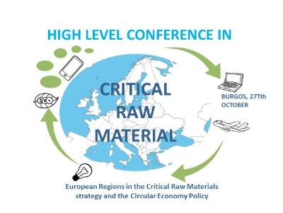 Esta conferencia abordará diferentes temas sobre la estrategia de materias primas críticas en la Unión Europea y la importancia de la innovación en la economía circular.