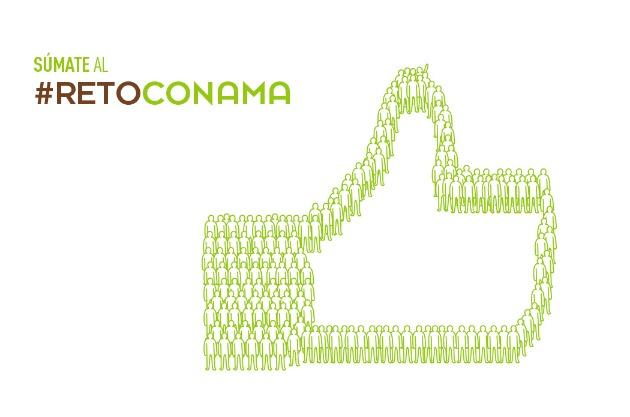 Reto Conama (#RetoConama) es una campaña promovida por medio centenar de entidades del sector ambiental, que pretende animar a los usuarios de las redes sociales a hacer un gesto por el medioambiente.