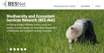 BES-Net es una «red de redes» para impulsar las capacidades que promueve el diálogo entre las comunidades científicas, políticas y prácticas para lograr una gestión más eficaz de la biodiversidad y los servicios de los ecosistemas, con lo que se persigue contribuir al bienestar humano a largo plazo y al desarrollo sostenible.