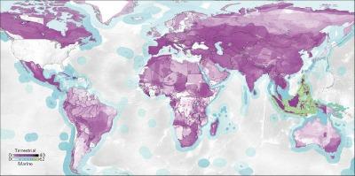 El mapeo a escala global llevado a cabo por Moran y Kanemoto está basado en datos de la Lista Roja de Especies Amenazadas de la Unión Internacional para la Conservación de la Naturaleza (UICN) y de la base de datos Eora MRIO sobre las cadenas de suministro, donde se vincula directamente la producción de bienes en un país con su consumo en otro.
