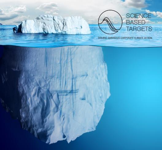 La iniciativa Objetivos Basados en la Ciencia (Science Based Targets, SBT), impulsada conjuntamente por Carbon Disclosure Project (CDP), el Pacto Mundial de las Naciones Unidas, el World Resources Institute (WRI —Instituto de Recursos Mundiales—) y WWF, ha desarrollado metodologías y herramientas para apoyar a las compañías de todo el mundo a identificar y promover enfoques innovadores para el establecimiento de objetivos corporativos de reducción de GEI ambiciosos y significativos.