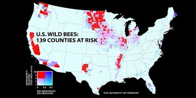 Los hallazgos revelan que insectos clave están desapareciendo en las tierras agrícolas más críticas para Estados Unidos. Esto podría conducir a que los agricultores tuvieran que hacer frente a mayores costes y a la inestabilidad en la producción de alimentos como consecuencia del cambio climático, los pesticidas, la pérdida de hábitats y las enfermedades.