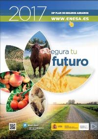 La guía consta de 48 páginas con información básica sobre el funcionamiento del Sistema Español de Seguros Agrarios y detalla todas las producciones y riesgos susceptibles de ser asegurados al amparo del 38.º Plan de Seguros Agrarios Combinados.
