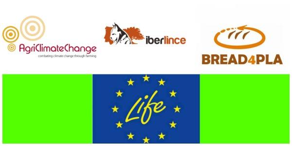 Los tres representantes españoles ganadores de los Green Awards de la Comisión Europea son AgriClimateChange, coordinado por la Fundación Global Nature, la reintroducción del lince ibérico en Andalucía, bajo la coordinación de la Consejería de Medio Ambiente y Ordenación del Territorio de la Junta de Andalucía, y Bread4Pla, coordinado por la Asociación de Investigación de Materiales Plásticos y Conexas (AIMPLAS).