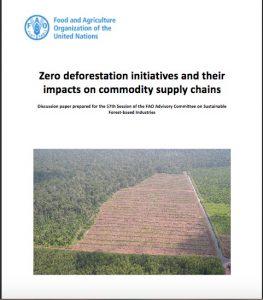 Otros temas tratados son cómo el movimiento «deforestación cero» se ha centrado en determinadas materias primas forestales y lugares del mundo frente a otros y cómo una gestión más amplia de la cadena de suministro hace posible la alcanzar la deforestación cero y salvarguardar sus beneficios.
