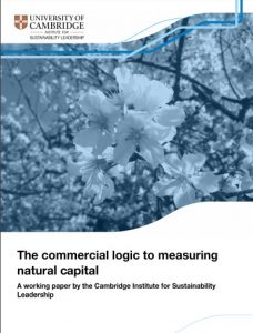 Los proyectos de capital natural tiene que ser exitosos en todos los departamentos