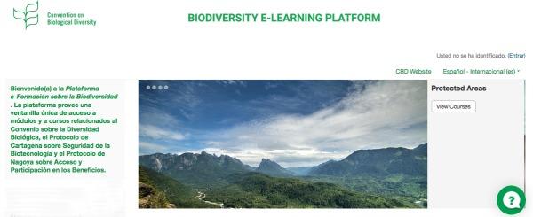 La plataforma se estructura en cuatro bloques de contenidos: a los recursos genéticos y al reparto de los beneficios, bioseguridad, economía, comercio y biodiversidad y áreas protegidas.