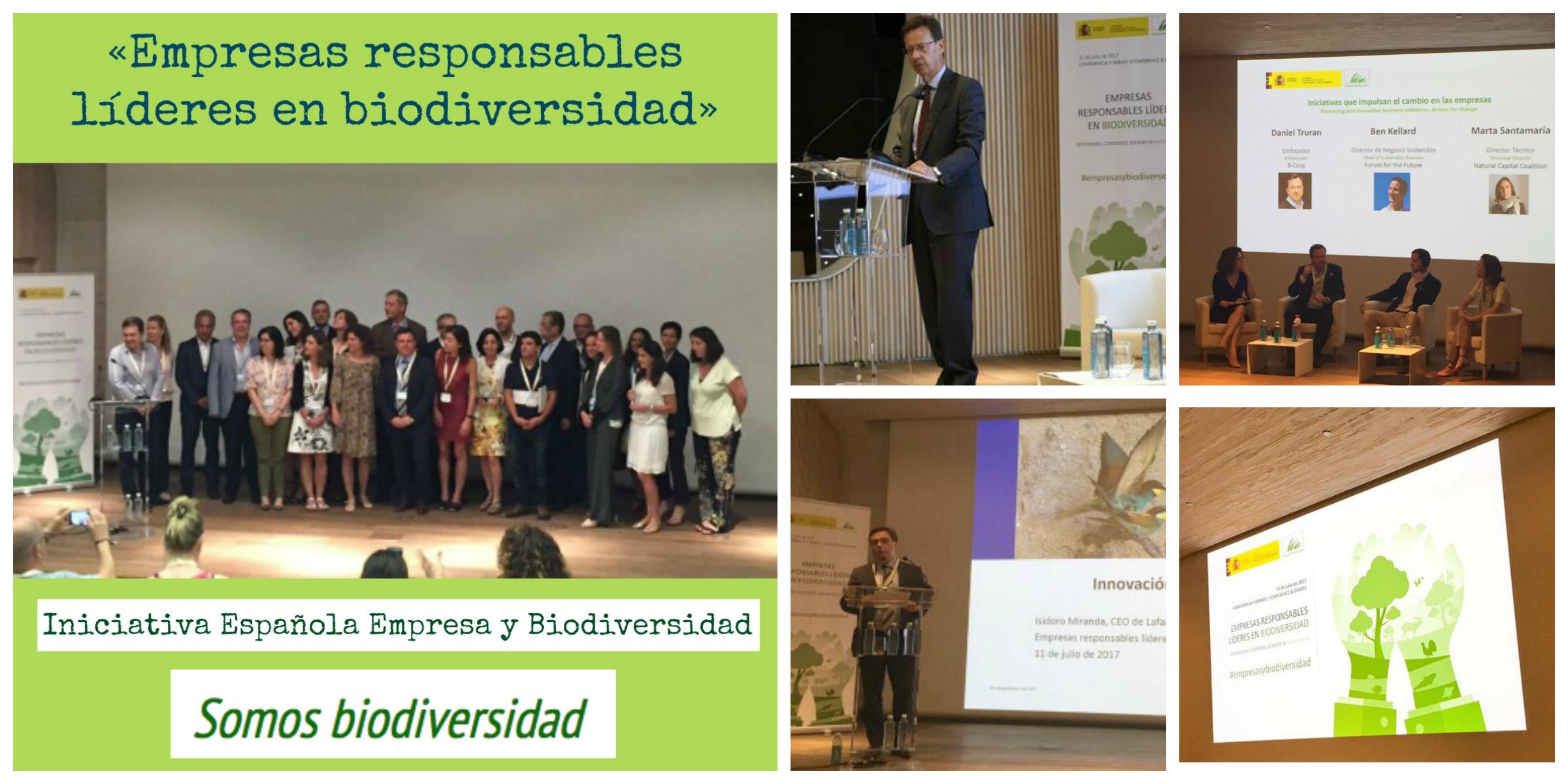 Más de 100 profesionales de la conservación, emprendedores y expertos dedicados a abordar la biodiversidad asistieron a la jornada organizada por la Iniciativa Española Empresa y Biodiversidad.