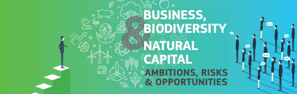 Los próximos 4 y 5 de octubre tendrá lugar en la ciudad alemana de Fráncfort sendas conferencias bajo un lema común: «Empresas, biodiversidad y capital natural: Ambiciones, riesgos y oportunidades».