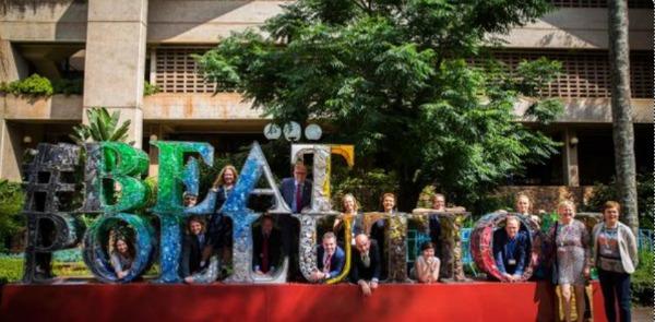 Durante los tres días, la organización de UNEA 3 registró cerca de 2,5 millones de promesas por parte de gobiernos, la sociedad civil, empresas e individuos para combatir la contaminación.