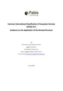 Guia de aplicación de la estructura revisada de CICES V5.1