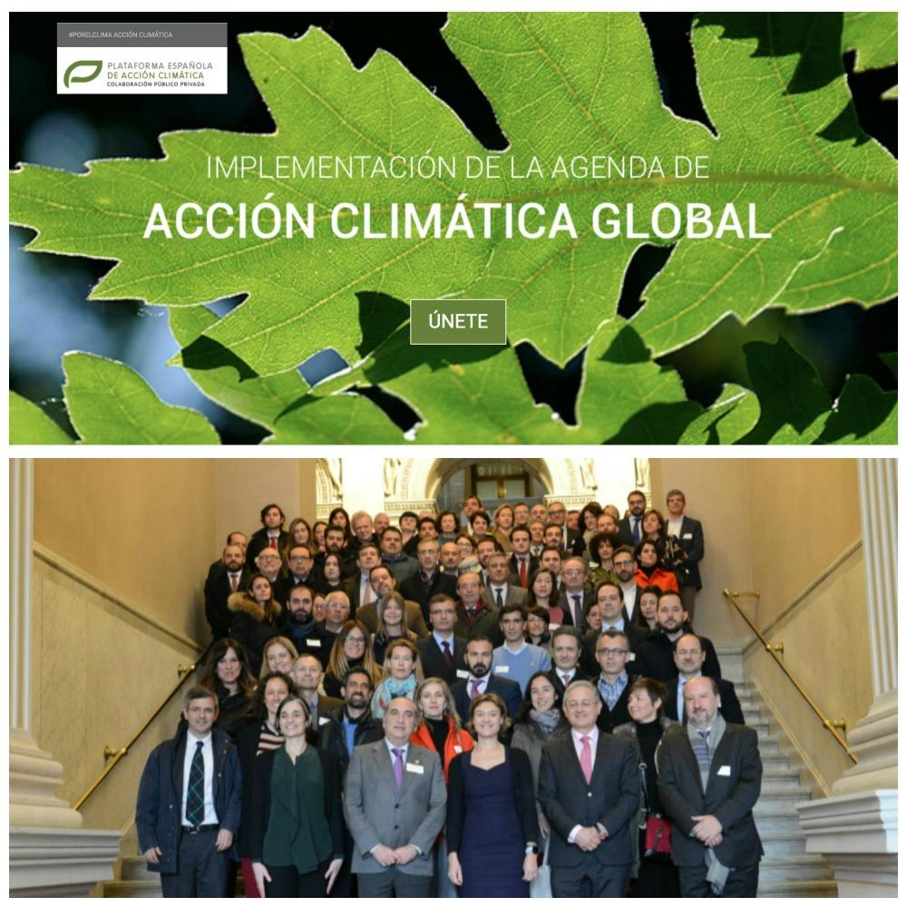 El objetivo de la plataforma consiste en hacer partícipe al sector empresarial español de la acción emprendida a escala mundial para luchar contra el cambio climático, mediante el impulso del Acuerdo de París y el avance hacia una economía baja en carbono y resiliente.