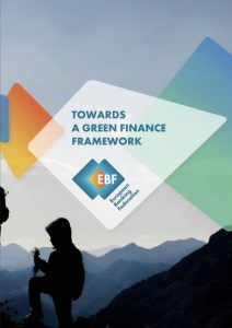 Towards a green finance framework