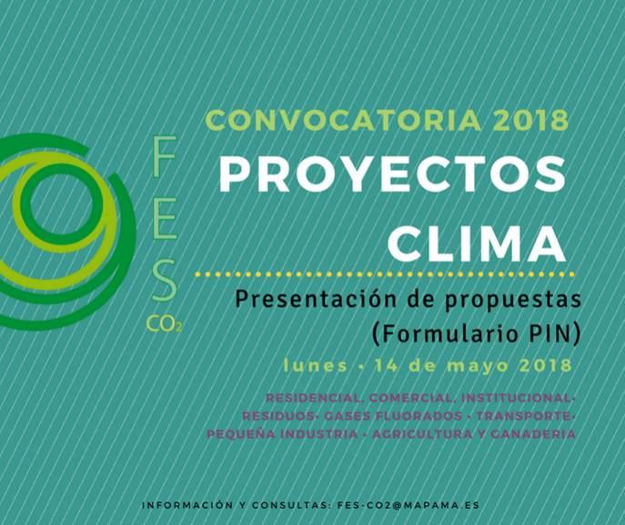 Los Proyectos Clima buscan fomentar la reducción de las emisiones de gases de efecto invernadero (GEI) en los sectores que no están sujetos al sistema europeo de comercio de derechos de emisión (EU ETS), conocidos como «difusos».