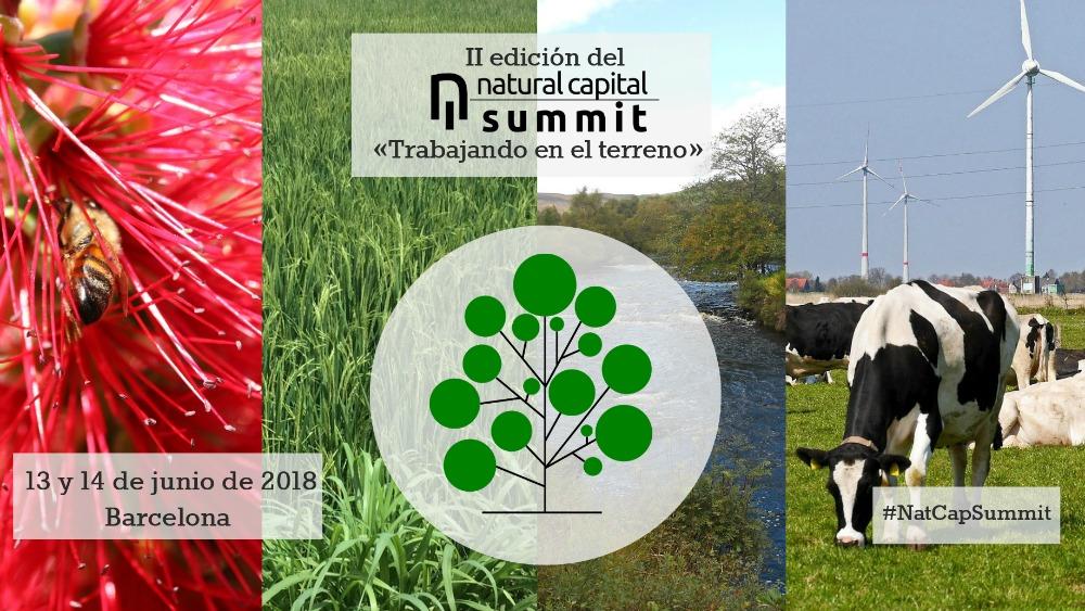 El II Natural Capital Summit está organizado por Ecoacsa y la Fundación Empresa y Clima y tendrá lugar en Barcelona los próximos 13 y 14 de junio.