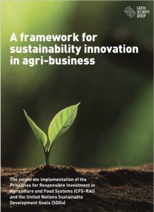 Un marco para la innovación de la sostenibilidad en la agroindustria
