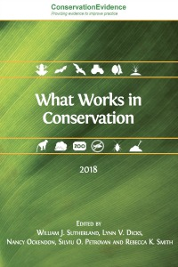Las páginas de «Qué funciona en conservación» páginas explican el grado de efectividad registrado en 763 intervenciones de conservación basadas en evidencia científica.