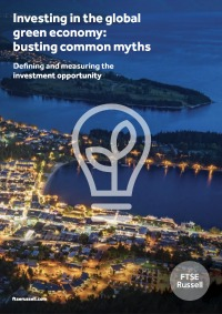 Investing in the global green economy: busting common myths. Defining and measuring the investment opportunity