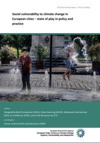 Vulnerabilidad social al cambio climático en ciudades europeas: estado de la política y la práctica